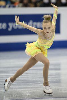 Go Lennnna!  She reminds me of my younger self!  Elena Radionova