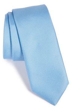 Men's HUGO Dot Silk Tie
