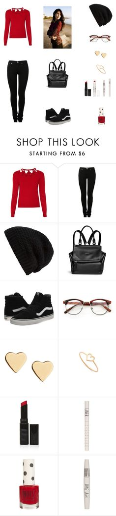 """""""Walking Around Outfit #8"""" by cherryflame14 ❤ liked on Polyvore featuring Altuzarra, MM6 Maison Margiela, Rick Owens, Givenchy, Vans, Lipsy, Aurélie Bidermann and Topshop"""