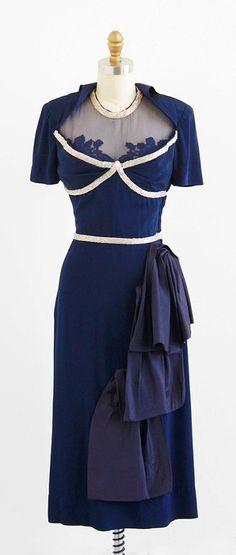 Vintage | 1940s Dress