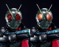 仮面ライダー FIRST Japanese Superheroes, Fantasy Figures, Masked Man, Creature Design, Kamen Rider, Power Rangers, Godzilla, Vintage Japanese, Raiders