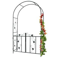 Arco per rose rampicanti h. 2,15 m. [2/4] | Wooden Gates & Fences ...