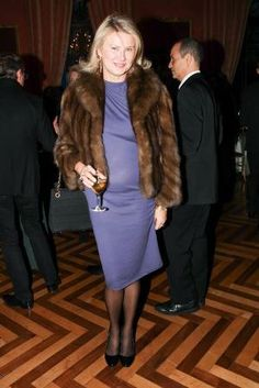 At the Consulate General of France in New York : Lady Liliana Cavendish