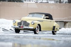 <i>From the collection of Paul Teutul, Jr.</i><BR /><B>1941 BUICK ROADMASTER<br /></B><BR />Chassis no. 13977054