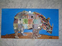 """""""Rhino"""" from El Tiempo es mío collection.   Author Miguel Gómez. 3.000€"""