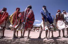 Taráhumara  –corredores de a pie-