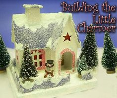 Use this project to add 'killer' charm to your Christmas village.  Click for bigger photo.  this train site offers history and great how-tos and patterns