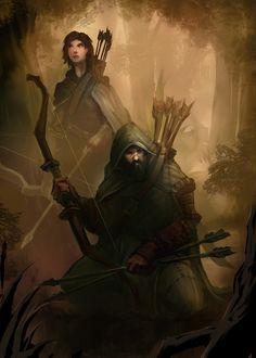 Band of Hunters by mattforsyth.deviantart.com on @DeviantArt