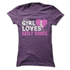 Girl Loves To Belly Dance - #money gift #hoodie dress. GET IT NOW => https://www.sunfrog.com/LifeStyle/Girl-Loves-To-Belly-Dance-Ladies.html?id=60505