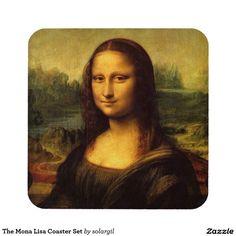 The Mona Lisa Coaster Set