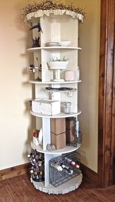 Revolving shelf