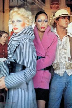 Pat Cleveland & Donna Jordan in Chloe by Karl Lagerfeld 1971