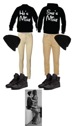 """Matching couples outfit.3"" by bayleeb99 ❤ liked on Polyvore"