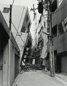 Robert Morris : Pinned Image  ryuji miyamoto - aftermath series kobe 1995