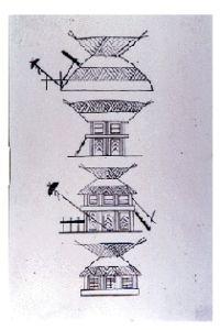 Yayoi houses