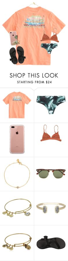 """""""Next stop Georgia!!!❤️"""" by maggieholland00 ❤ liked on Polyvore featuring Mikoh, Belkin, Estella Bartlett, Ray-Ban, Alex and Ani, Kendra Scott and Chaco"""