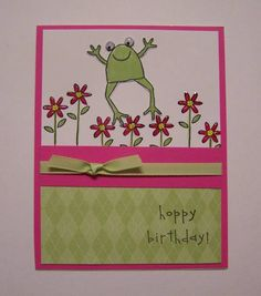 Unfrogettable 13 by nilakias - Cards and Paper Crafts at Splitcoaststampers