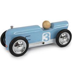 Coche metal thunder azul 20cm. Es una réplica perfecta de los coches de carreras y se distingue por su alta calidad y acabados refinados.