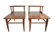Mid Century Modern Side/End Tables  Fully by RetroTherapyRehab
