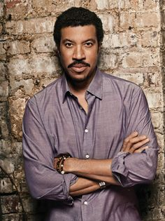 "Lionel Richie, an American R and pop singer-songwriter, musician, record producer and actor. He was a member of the group ""Commodores"". He made his solo debut in 1982."