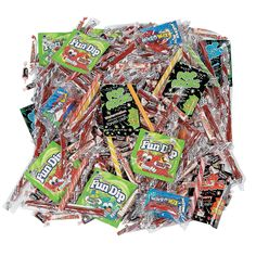 Nostalgic Candy Assortment. Wow! This nostalgic candy assortment includes five pounds of sweet old fashioned favorites. (Approx. 301 pcs. per unit, 5 lbs.) Assortment may vary.
