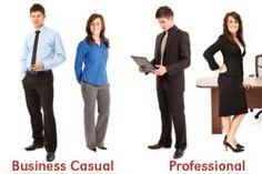 interview/business attire