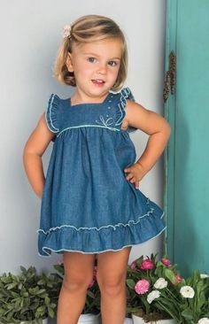 Toddler Girl Outfits, Little Girl Dresses, Toddler Fashion, Toddler Dress, Baby Dress, Kids Outfits, Kids Fashion, Girls Dresses, Baby Frocks Designs