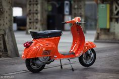 Vespa Primavera 1975, Orange, im O-Lack, Originallack, Vespa Smallframe wie Vespa 50SS, ET3, VE8PA.CH-19