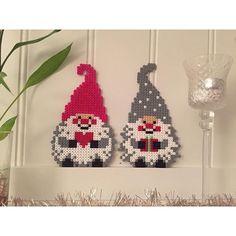 Christmas gnomes hama beads by lobbiz