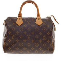 Pre-owned Louis Vuitton Satchel (780 CAD) ❤ liked on Polyvore featuring bags, handbags, purses, apparel & accessories, brown, satchels, wallets & cases, louis vuitton purse, man bag and kiss-lock handbags