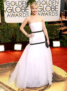 J. Law rocks Dior Couture at the 2014 Golden Globes