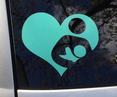 Breastfeeding is Love Decal by RadGirlCreations on Etsy