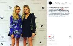 Frankie Gaff attends the launch party of ANNABELLA DIAMONDS in Knightsbridge wearing the Superstar Diamond Ring in Rose Gold