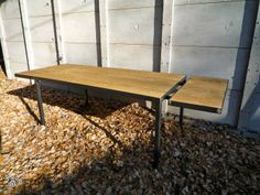 table on pinterest mesas hairpin legs and hairpin table