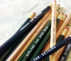 Journey Road Trip Pencil Pack by Earmark Social. The Embrace, Road Trippin, Travel Gifts, Back To School, Stationery, Journey, Let It Be, Explore, Adventure