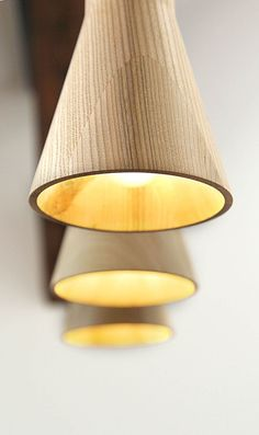Wood + Gold + Light