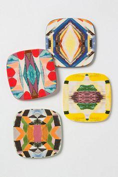 #Cricut stoneware coasters. OH DEFINATELY A CHRISTMAS PRESENT FOR THOSE WHO LIKE SOUTHWEST ART. LIKE: ME, MYSELF, AND I....LOVE THESE.