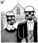 Gas Masked Gothic