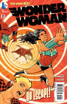 Wonder Woman Vol. 4 #21 | Community Post: 30 Animated Comic Book Covers That Are Downright Hypnotizing