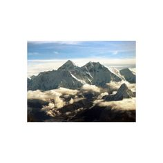 The Southern Face of Mount Everest Photographic Wall Art Print ($30) ❤ liked on Polyvore featuring home, home decor, wall art, landscapes, mountain ranges, mountains, natural landscapes, subjects, photographic wall art and landscape posters