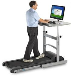 Very cool! Exercise at Work - Voted best new treadmill for 2012 by Treadmill Doctor reviews