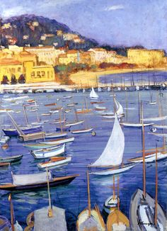Villefranche by the sea / Henri Lebasque
