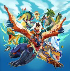 Monster Hunter Stories uscirà ad Ottobre in Giappone