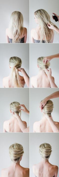 Easy Step By Step Hairstyles for Long Hair13