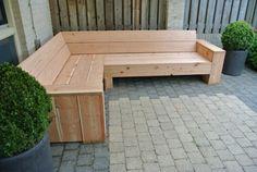 Steiger houten bank