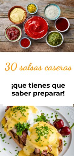 Las 30 salsas caseras que todo cocinero debe saber preparar Deli, Mashed Potatoes, Food And Drink, Pizza, Dressing, Ethnic Recipes, Gastronomia, Pickling, Sweets