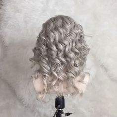 "778 Likes, 17 Comments - Heather Chapman Hair (@heatherchapmanhair) on Instagram: ""Dolly!! ⚙⚙⚙ My mannequin!! Wait 'til you see the end!! #hairlovemoment 🖤 Hair pins by @jenniferbehr…"""