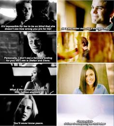 delena defeated all the odds and that is the power of true love.   the vampire dairies #tvd