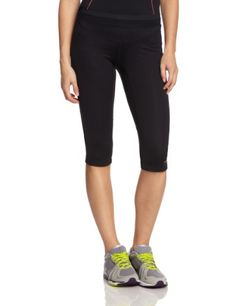 Ronhill Women's Aspiration Contour Running Capri - Black, Size 14  Discount from…