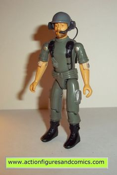 Hasbro toys G I JOE vintage gijoe action figures for sale to buy 1982 / 1983 BREAKER (swivel arm) 100% COMPLETE condition: overall great display peice with nice joints, no broken, damaged, or missing